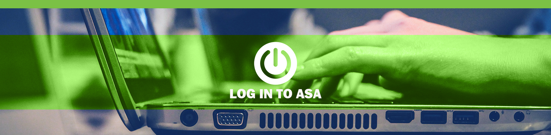 log in to asa